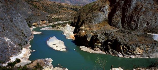 Great Bend, Jinsha River, China