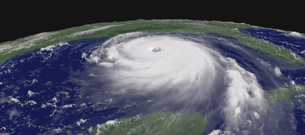 Hurricane Katrina, Category 5 Storm, Aug. 28, 2005