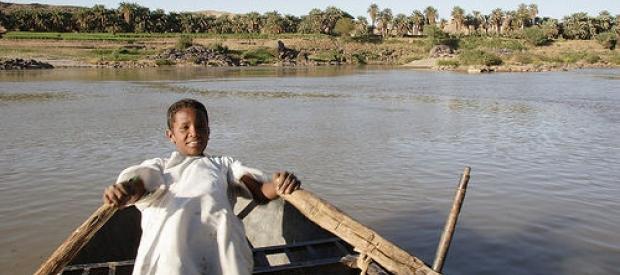 Rowing on the Nile, Sudan