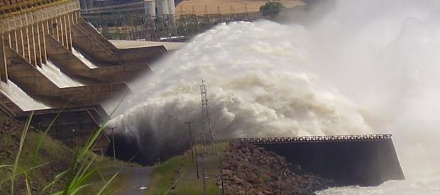 Tucuruí Dam spillway, Tocantins River, Brazil