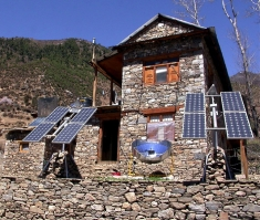 Off Grid Solar Project in Nepal
