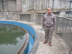 The water treatment plant at Moutai.