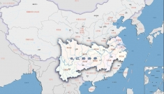 A map of the Yangtze River Economic Belt