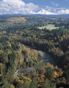 The Sandy River in Oregon